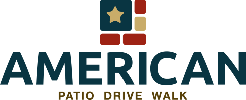 American Patio Drive Walk Logo